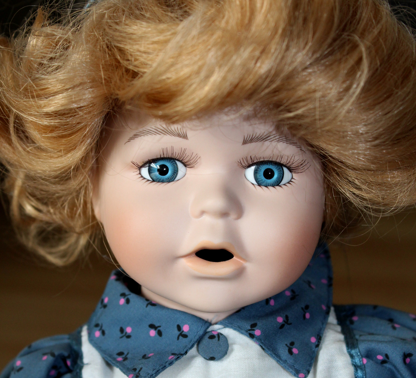 Ha felzaklat ez a fotó, valószínűleg pediofóbiás vagy, ami a játék babáktól való félelmet jelenti.