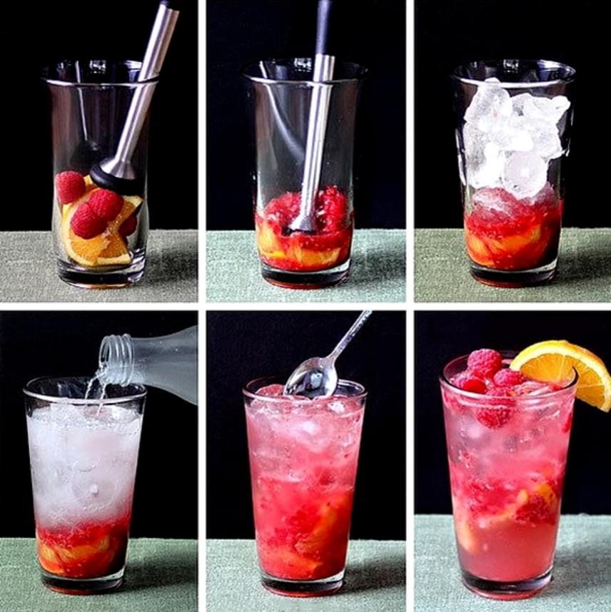 Ha valami még gyümölcsösebbre vágysz, narancsot és málnát törj össze a pohárban, majd adj hozzá jeget, vizet, keverd össze, és már ihatod is! Mindkét gyümölcs segít a fogyásban.