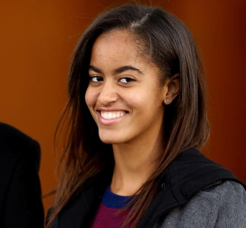 A mosolyát egyértelműen az édesanyjától, Michelle Obamától örökölte.