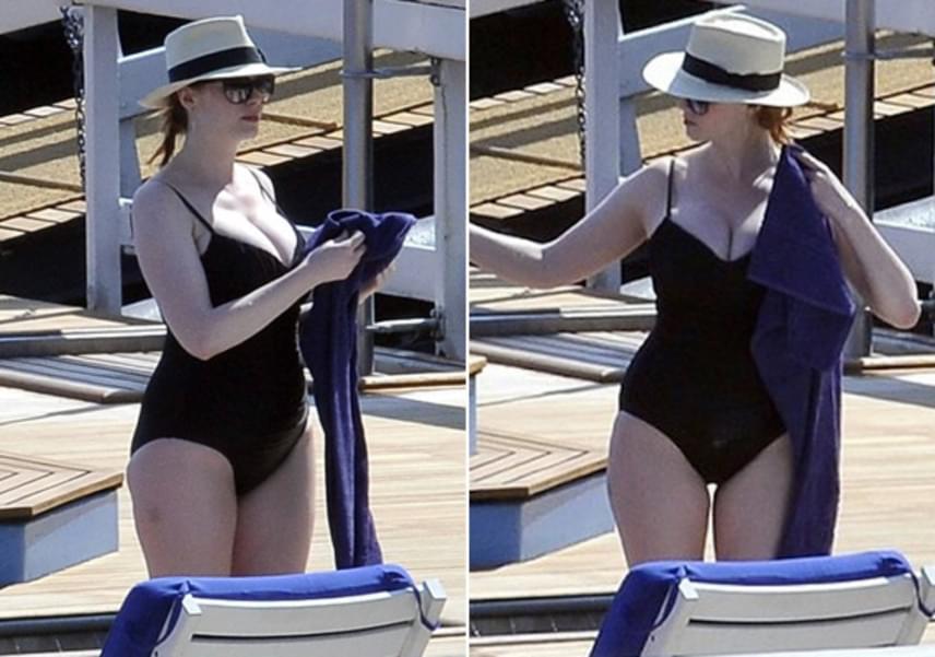 Christina Hendricks gömbölyded formáival is irtó szexi, nem véletlenül választották meg a férfiak 2013-ban az egyik legszebb nőnek.