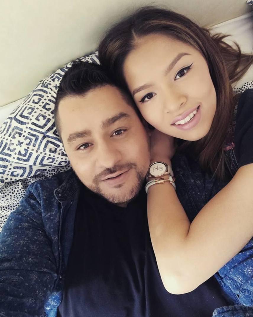 Caramel és gyönyörű felesége, Szilvi több mint tízezer lájkot kapott a tegnap készült szelfire. A kommentelők álompárként tekintenek rájuk.
