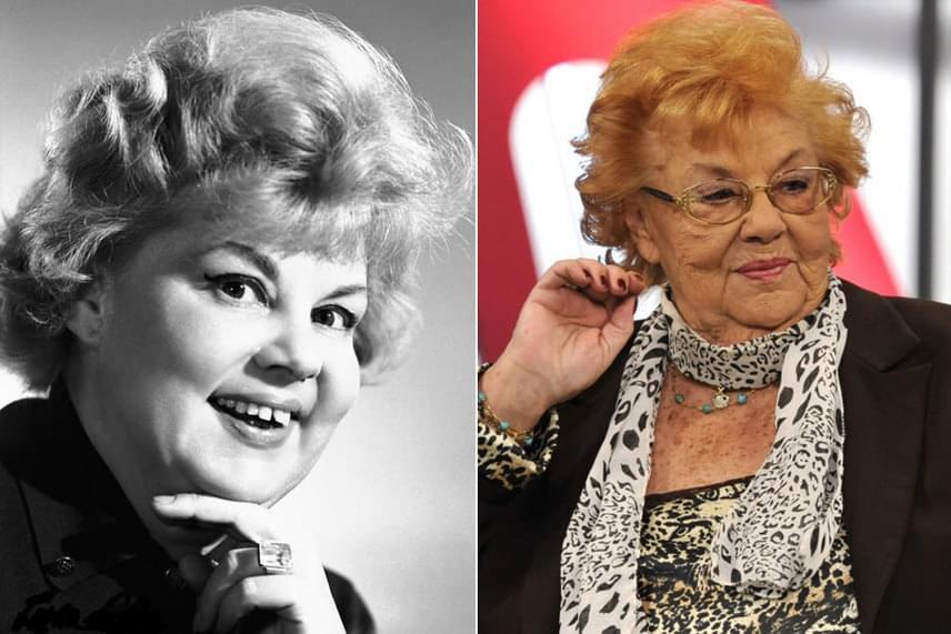 Lorán Lenkére az emberek többsége nagymamakorú, imádnivaló komikaként gondol. A fekete-fehér felvétel mutatja, hogyan nézett ki fiatalon.