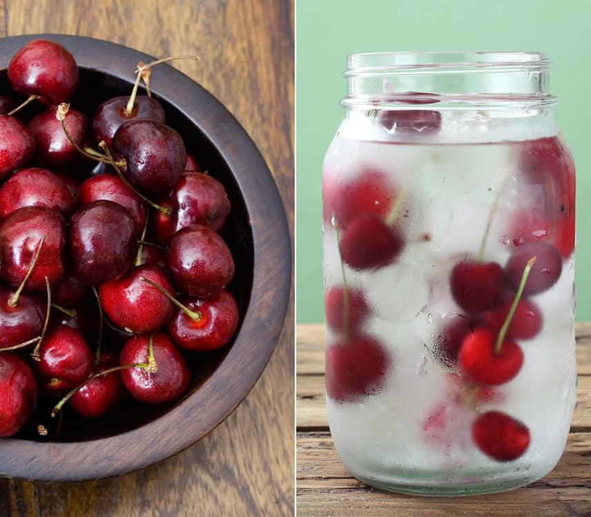 A nyár elején, tavasz végén érő cseresznye és meggy mindössze 64, illetve 50 kalóriát tartalmaz. Emellett rengeteg rostot biztosítanak szervezeted számára, így lassabban éhezel meg. A lúgosító hatású, antioxidánsokban gazdag cseresznyéből a szemeket bevagdosva, majd vízbe áztatva májtisztító italt készíthetsz egész napra, vagy eheted frissen, délelőtti nassolnivalóként.