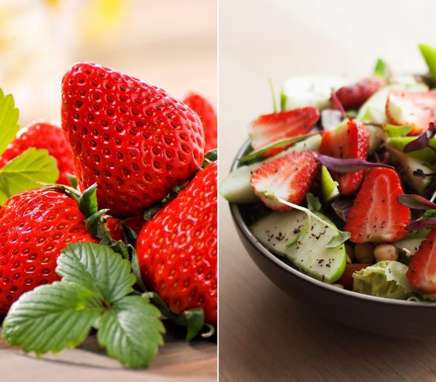 Az eper vitamin-, rost- és antioxidáns-tartalma is kiemelkedő, így a fogyókúra során akár minden étkezéshez is eheted. Tudj meg többet az eperdiétáról, vagy készítsd el az egyik alacsony kalóriatartalmú epres ételt a menüsorból!