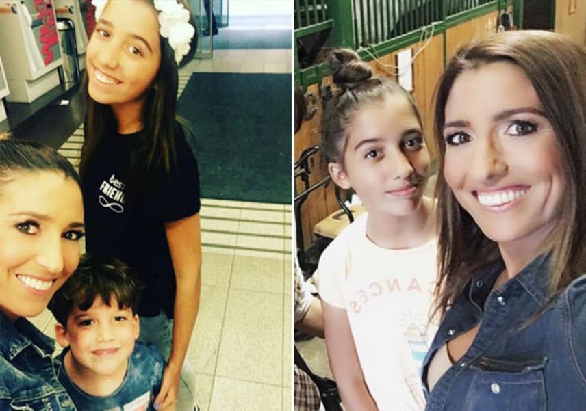 Igencsak megnyúlt az utóbbi időben Rubint Réka és Schobert Norbi egy szem lánya, Lara. A 12 éves sztárcsemete sokat sportol, többek között teniszezik, lovagol, és fitnesz-DVD-t készített édesanyjával és unokanővérével.