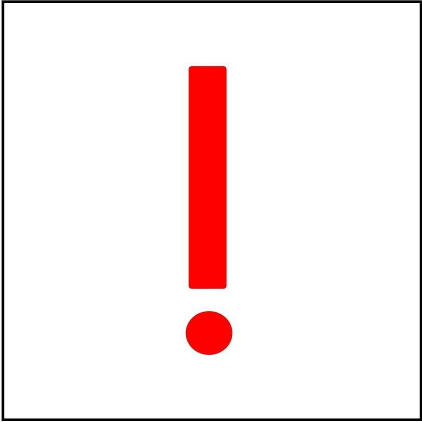 Biztonsági szempontból kiemelten fontos jelzés lehet a fatörzsekre festett piros felkiáltójel is, amelyet a gyalogos és a kerékpáros vagy közutak találkozásánál alkalmaznak, és felhívja a figyelmet az olykor balesetveszélyes keresztező forgalomra.