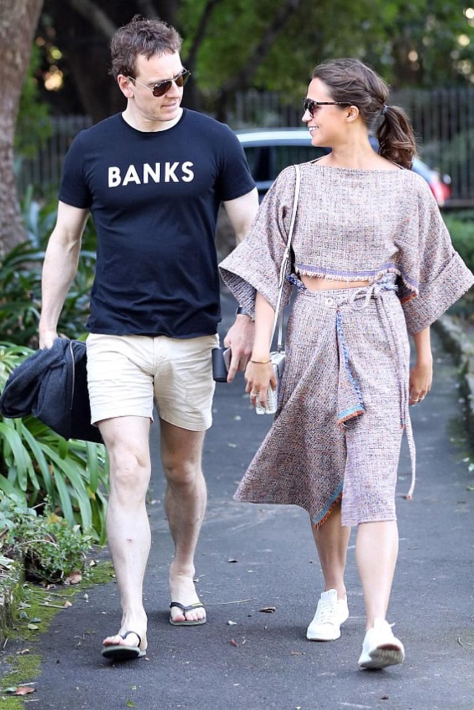 Tegnap Sydney-ben kapták le őket a paparazzók: együtt töltötték a napot Ausztrália legnagyobb városában, mielőtt visszatértek volna a munkához.