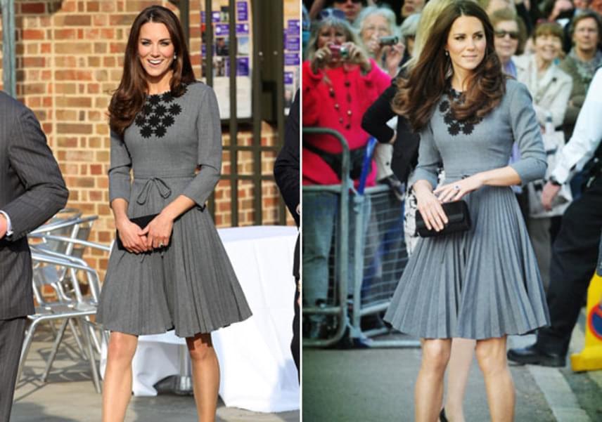 A hercegné Orla Kiely kreációját 2015-ben egy jótékonysági találkozón, illetve 2012-ben egy nyilvános eseményen viselte.