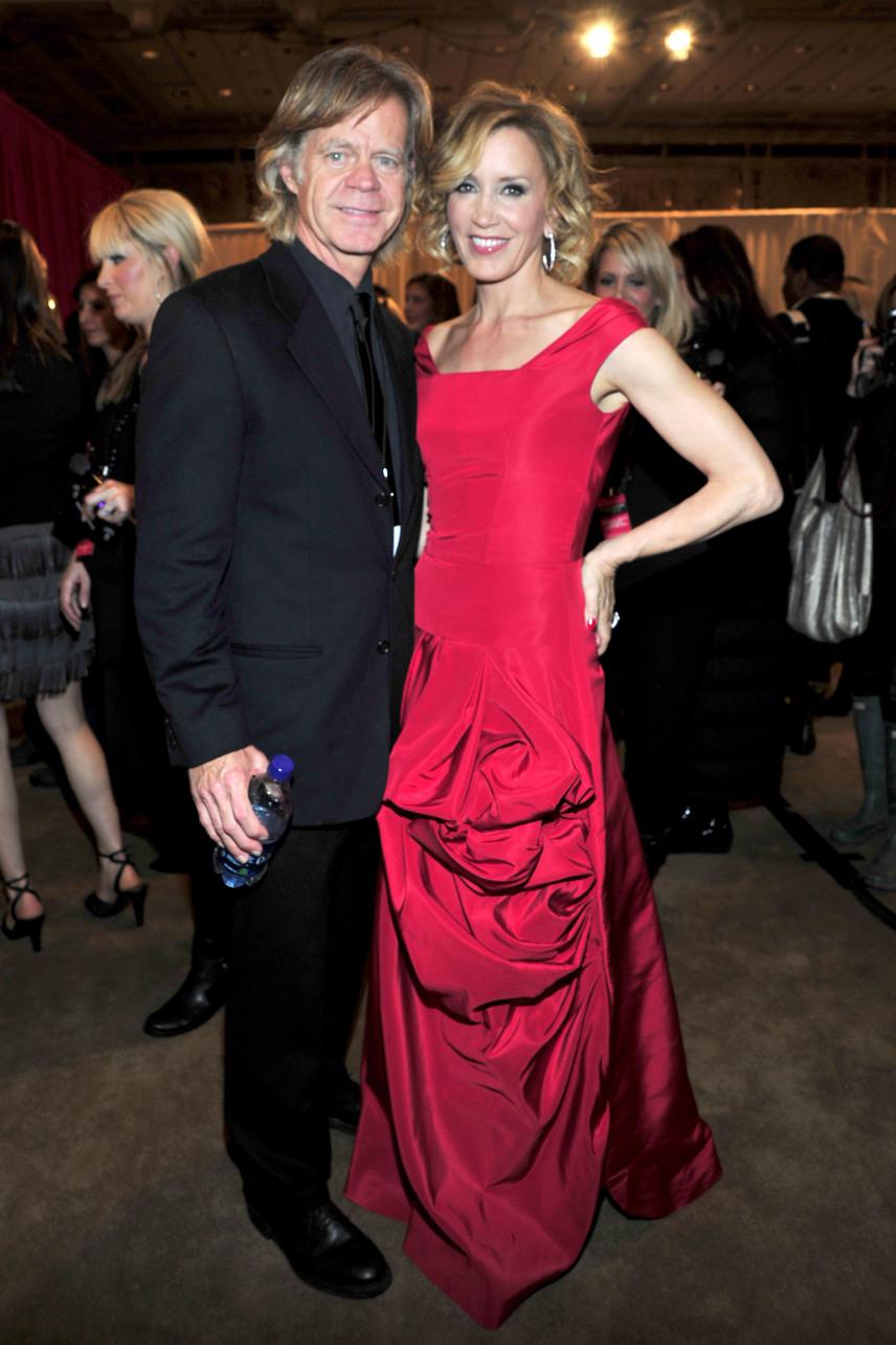 Felicity Huffman, akit főként a Született feleségek című sorozatból ismerhetünk, jövőre ünnepli férjével, William H. Macy-val 20. házassági évfordulójukat.