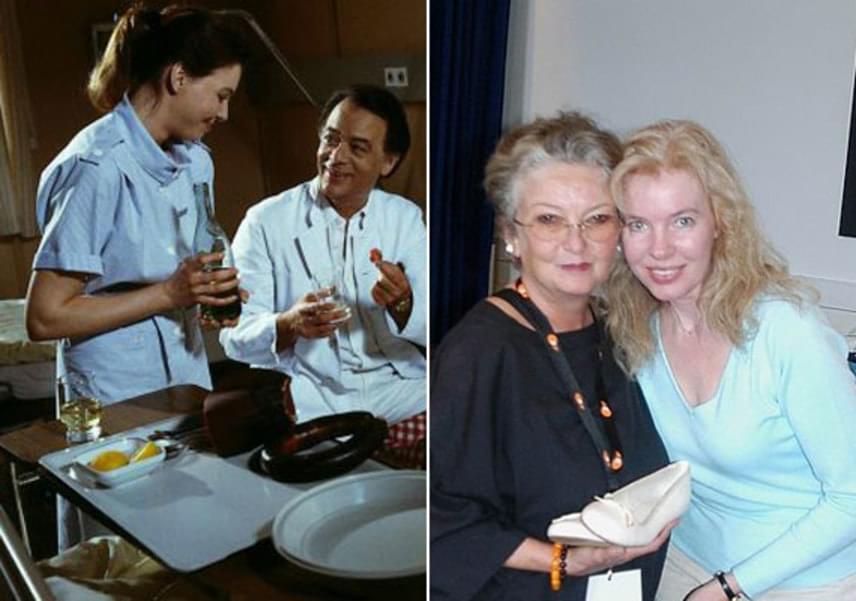 A sorozatban csupán kisebb szerep jutott Ina nővérnek, mégis, Gaby Fischer egy csapásra ismert lett vele. Az 55 éves asszonyról annyit tudni, felhagyott a színészi pályával, háziasszonyként él és van egy fia.
