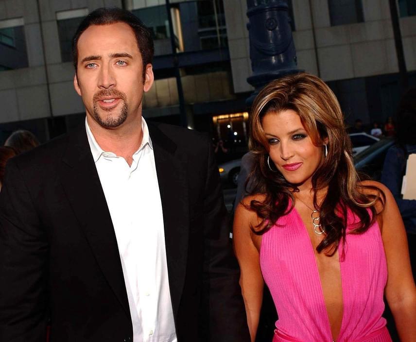 Nicolas Cage Elvis Presley lányát, Lisa Marie Presley-t is meggyűrűzte 2002-ben, de 107 nap után úgy döntöttek, hogy nem egymáshoz valók. Igaz, a válást csak 2004-ben sikerült véglegesíteni.