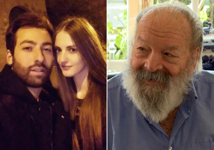 A híres pofonosztó egyik unokája, Alessandro Pedersoli szíve választottja egy dögös magyar modell, Vass Vivien. A lány már 2013 óta modellkedik, emellett egyetemi hallgató. A színész másik unokája, ifj. Carlo Pedersoli híres bokszoló lett.