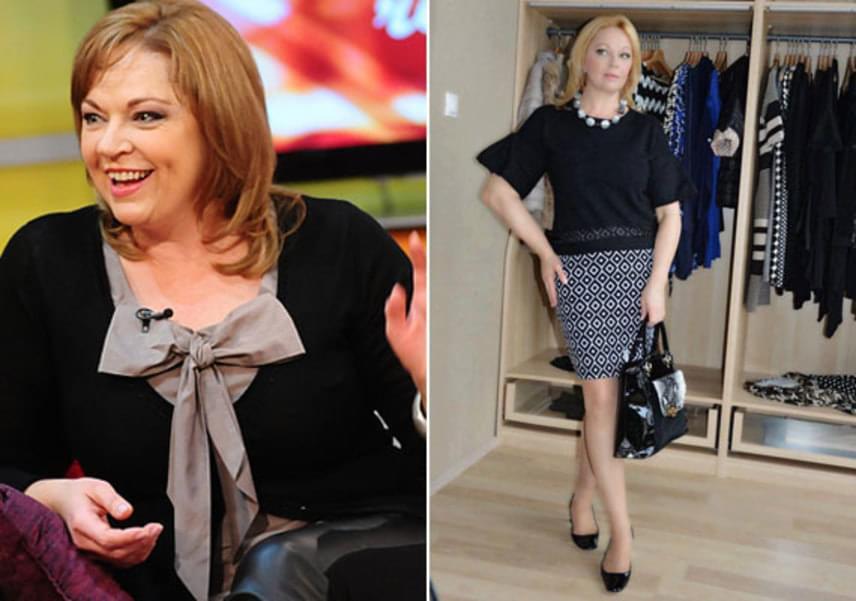 Míg a bal oldali fotó 2011-ben, addig a jobb oldali pár hete készült. A színésznőnek nem kell aggódnia a kora miatt, hiszen akár tíz évet is letagadhat belőle.