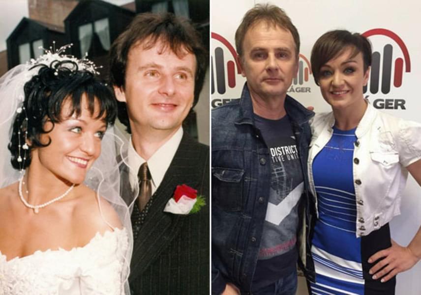 A minap ünnepelte 17. házassági évfordulóját Szandi és Bogdán Csaba, akik immár 24 éve vannak együtt. Az énekesnő és zenész férje a '92-es Fenyő-Szandi turnén melegedett össze, ekkor jöttek rá, egész életüket egymás mellett szeretnék leélni.