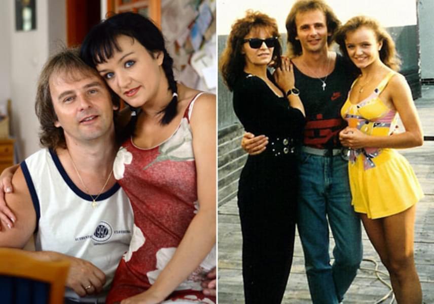 Szandi fiatalon is elbűvölően nézett ki, nem csoda, hogy Bogdán Csabának megakadt rajta a szeme. A szerelmesek találkozásuk után öt évvel, 1999-ben összeházasodtak. A jobb oldali fotón Szandi, nővére, Pintácsi Viki és Bogdán Csaba látható.