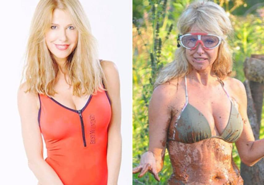 Az 56 éves modell, Sütő Enikő hét évvel ezelőtt még a Celeb vagyok, ments ki innen! felvételein - jobbra - nyűgözte le bomba alakjával a nézőket, azonban kiválóan áll neki a legutóbb viselt piros fürdőruha is, amelyben olyan karcsúnak tűnik, mint egy kamaszlány.