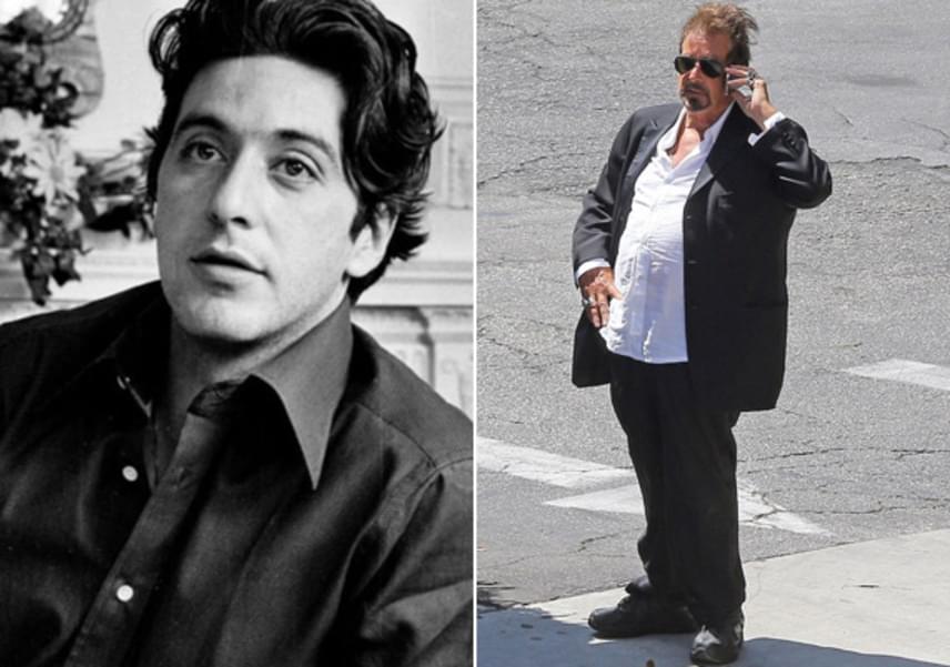 Egyelőre nem tudni, hogy egy filmszerep kedvéért szedett fel ennyit Al Pacino, vagy a mozgásszegény életmódjának köszönhető a súlygyarapodás, mindenesetre alig emlékeztet régi önmagára ezen a fotón.