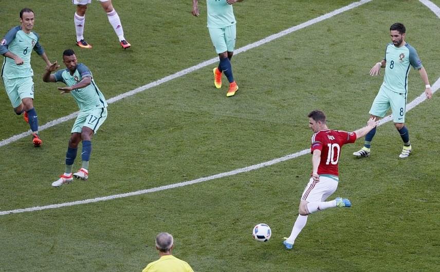 Válogatottunk elsöprő sikerrel száguldott végig csoportelsőként a bajnokság első három hetén. Minden bizonnyal még sokáig emlegetni fogjuk Gera Zoltán bombagólját az Eb-győztes portugál válogatott ellen, amelyet a csoportkör legszebb találatának is választottak az UEFA honlapján szavazók. A 3:3-as győzelemként elkönyvelt eredmény pedig az osztrákok elleni 0:2-es és az izlandiakkal játszott 1:1 után még felemelőbbé tette a szereplést.