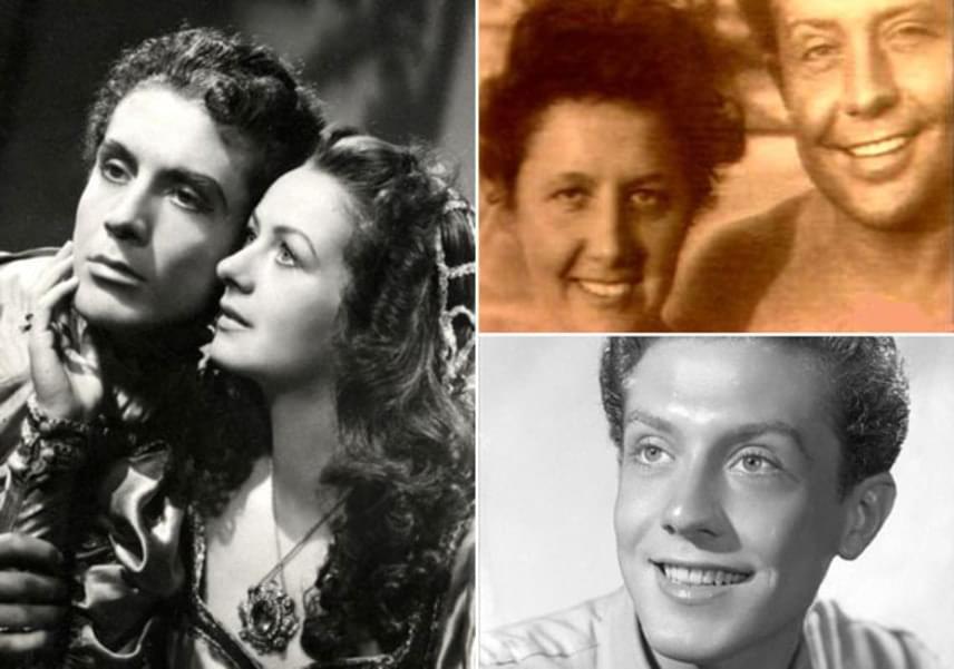Kállai Ferenc fiatalkorában nem vetette meg a női nemet, nemegyszer előfordult, hogy beleszeretett partnernőibe, például a hat évvel fiatalabb Fényes Alizba - balra -, akivel 1946-ban a Rómeó és Júlia című darabban játszott a Belvárosi Színházban. Feleségével, Csizmadia Marával - jobbra fent - 1945-ben házasodtak össze, és 65 évig, a férfi haláláig éltek együtt.