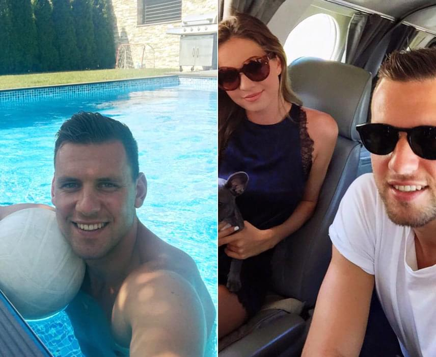 A jóképű focista, Szalai Ádám és a gyönyörű modell, Csilla 2012 óta alkottak egy párt. Most kiderült, a labdarúgó szingli lett, négy év után szakítottak.