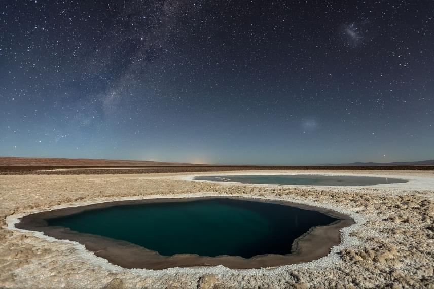 Természet, harmadik helyezett: Victor Lima - Baltinache lagúnák (Atacama-sivatag).