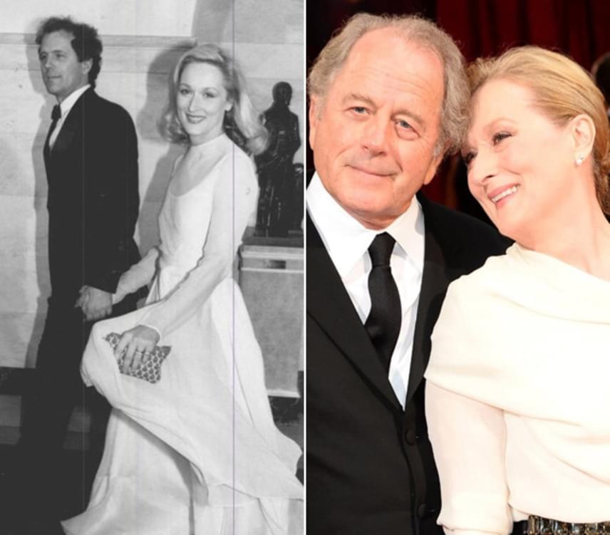 1978-ban kötötte össze az életét Meryl Streep és a tehetséges szobrász, Don Gummer. A párnak azóta négy közös gyereke is van, és ugyanúgy imádják egymást, mint fiatalkorukban.