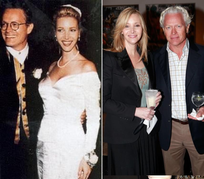Lisa Kudrow és Michel Stern a Jóbarátok forgatásán ismerkedtek meg egymással, és már 21 éve alkotnak egy párt.