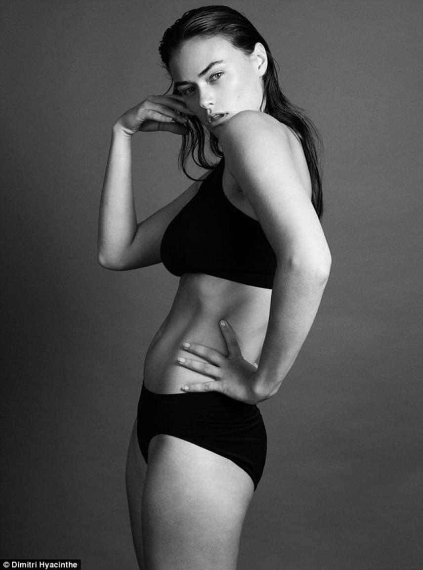 Myla számára nagyon sokat jelentett a Calvin Klein felkérése. Az ikonikus márka korábban sohasem készített fotókat testesebb nőkkel, főleg nem olyanokkal, akik nem illeszkednek a sztenderd duciképbe.