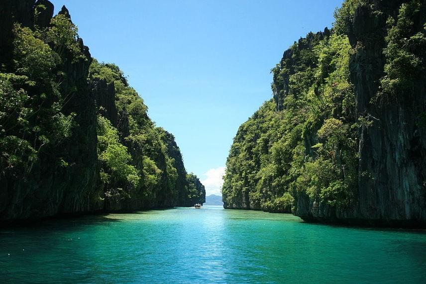 A keskeny, kard alakú Palawan a Fülöp-szigetek egyike. A maga 450 kilométerével hosszabb, mint a Duna magyar szakasza. Palawan igen népszerű a könnyűbúvárok körében, hiszen sok ott az egyelőre még háborítatlan korallzátony, és színpompás tengeri élővilága is varázslatos.