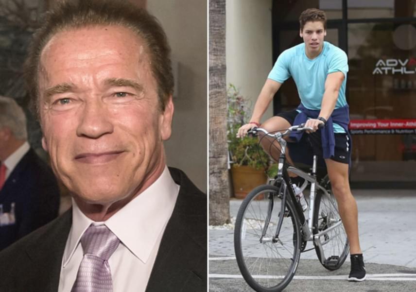 Arnold Schwarzenegger 2011-ben ismerte be a feleségének, Maria Shrivernek, hogy azok után, hogy félrelépett a házvezetőnőjükkel, még egy közös fiuk is született, Joseph Baena. A fiú le sem tagadhatná édesapját, szinte a szakasztott mása.