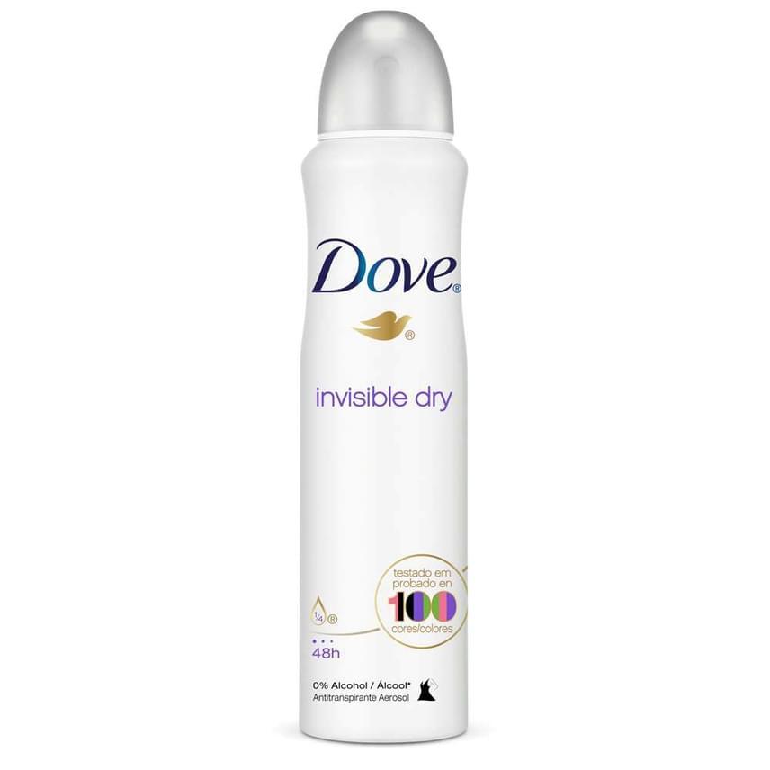"""Dia: """"Nekem a Dove Invisible Dry - nem túl régi ez a fajta, nem hagy nyomot a ruhán elvileg (egyébként a feketén néha meglátszik, de vízzel öblíthető)."""""""