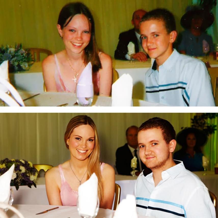Szinte semmit sem változtak: Alex 13 éves volt, amikor beleszeretett Adambe. Ma is imádják egymást, ám már nemcsak mint szerelmesek, de mint férj és feleség is egy párt alkotnak.