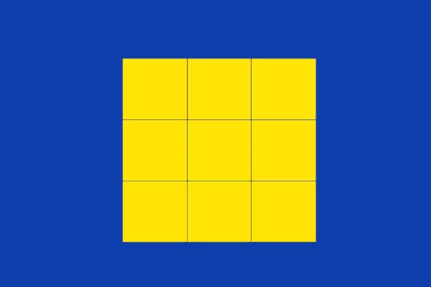 Négyzetek számaHány sárga négyzetet látsz ezen a képen? Számold össze!