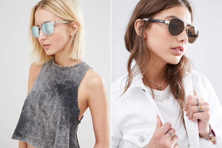 Nem mindegy, milyen napszemüveget és szemüvegkeretet választasz. A nagyon vékony, fakó daraboktól unalmasnak, öregesnek tűnik a stílusod, míg egy jól megválasztott szemüveg a legjobb hangsúlyos kiegészítőd lehet, akárcsak egy statement ékszer.