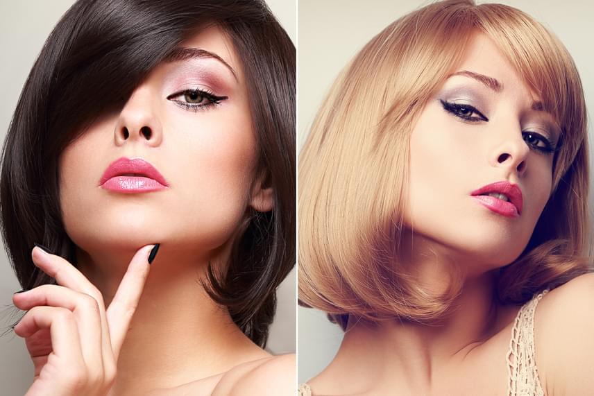 Ha nagyon erősen formázod a hajadat, és sötét színre festetsz, az éveket öregít az arcodon optikailag, különösen, ha a festék nagyon egyenletesen fed. Próbáld ki a világosabb árnyalatokat, vagy kérj különböző tónusokat a hajadba, így sokkal természetesebb és divatosabb hatást érsz, ráadásul nem öregíted magadat évekkel!