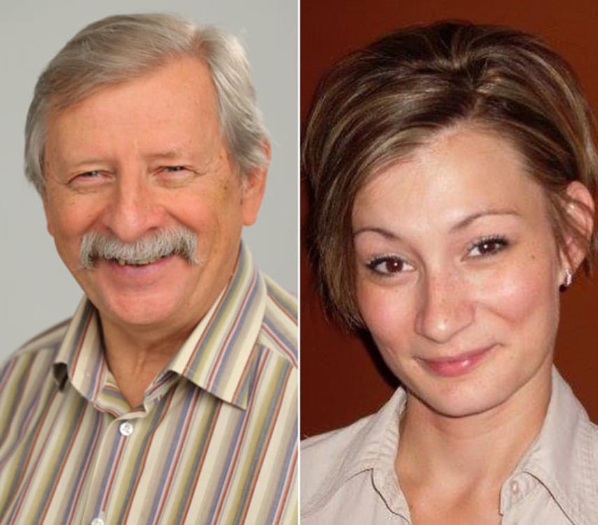 A Barátok közt Vili bácsijának a lánya, a 37 éves Várkonyi Andrea szintén színészi pályára lépett, közös darabban is láthatja őket a közönség.
