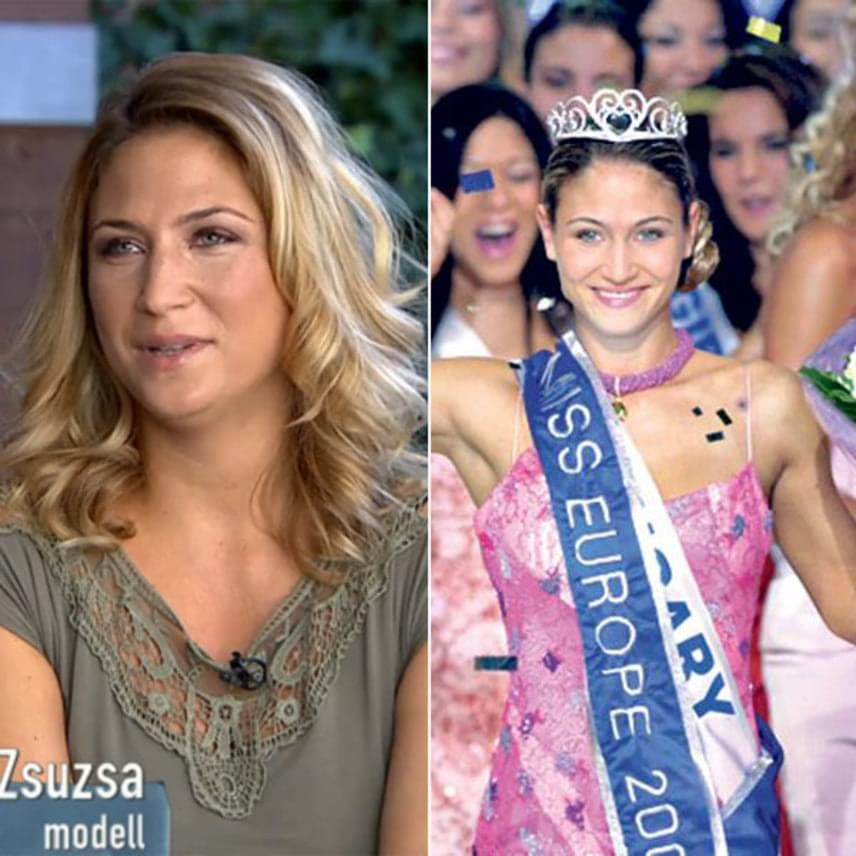 Laky Zsuzsi 2003-ban megnyerte a Miss Európa versenyt, ami után a Magyar Turizmus Rt. és egy légitársaság is az ő arcával reklámozta Magyarországot. A szőke szépség kétgyerekes anyukaként ma is kitűnik szépségével.
