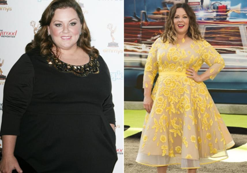 Melissa McCarthy 27 kilónál tart a fogyásban, de messze még a kitűzött álomsúly. Mindenesetre a színésznő nagyon büszke magára, és folytatja a diétát és a mozgást.