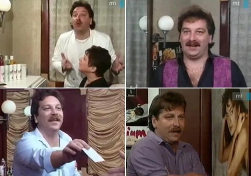 Bajor Imre a '80-as, '90-es években számos színpadi darabban feltűnt, de az 1990-es Szomszédok című tévésorozat szerzett számára országos ismertséget, ahol 77 epizódban Oli urat, a női fodrászt alakította. Horváth Ádám rendező a Hyppolit, a lakáj kétszázadik előadásán látta meg őt, és ötlötte ki számára a fodrász szerepét.