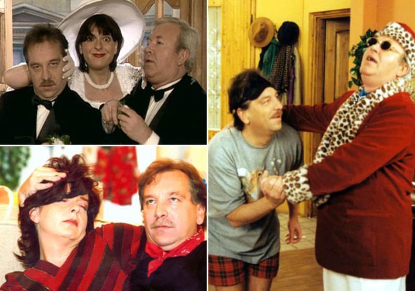 Az Árpa Attila által rendezett Pasik című sorozatban 2000-től 2003-ig szerepelt Gálvölgyi János és Hernádi Judit oldalán. A magyar sitcom Palika és Ernő mindennapos harcát mutatta be Jucus kegyeiért.