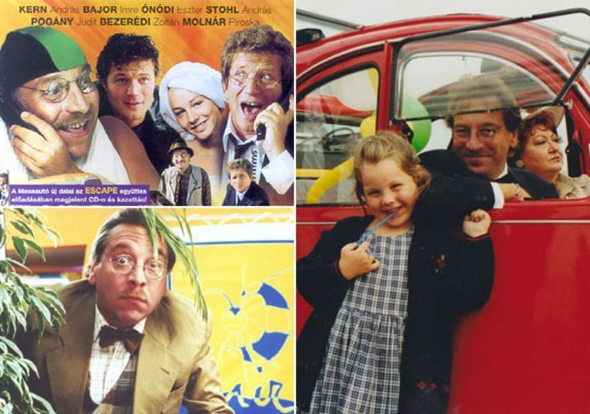 16 éve annak, hogy a Meseuató remake-jét olyan neves művészekkel forgatták újra, mint Ónodi Eszter, Kern András, Stohl András vagy Bajor Imre. A jobb oldali kép a film forgatásán készült, még 1999-ben, ezen lányával, Lilivel látható.