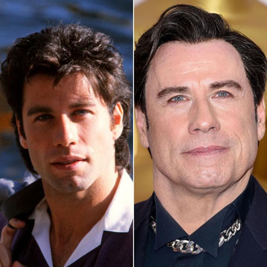 Ez a friss fotó egyértelmű tanúbizonyságát teszi annak, hogy John Travolta 60 felett műanyagarcú pasi lett.