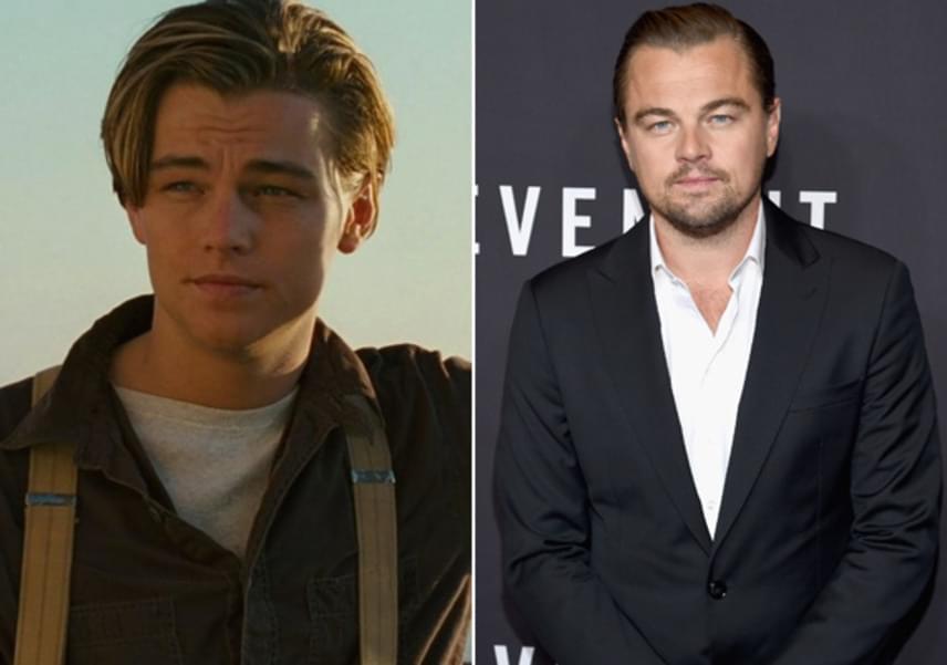 Leonardo DiCapriót bájos arca miatt imádták a nők, mostanra azonban sokkal férfiasabb külsővel és jó néhány plusz kilóval hódít.