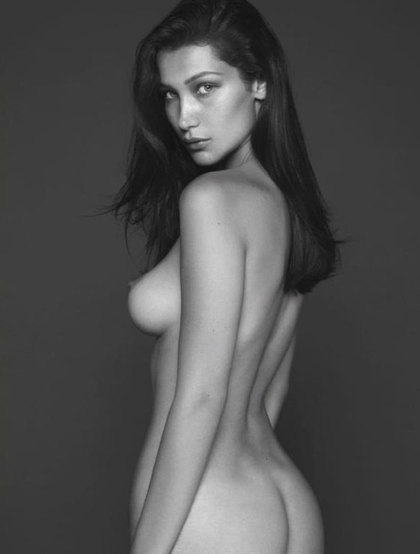 Meztelen női modell