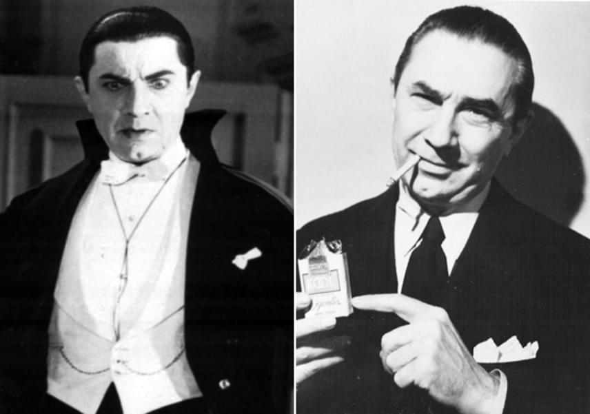A horrorfilmgyártás hőskorának legnépszerűbb főgonoszaként, Drakulaként vonult be a történelembe Lugosi Béla, aki sikerei ellenére szegényen halt meg. Temetését barátja, Frank Sinatra fizette ki.