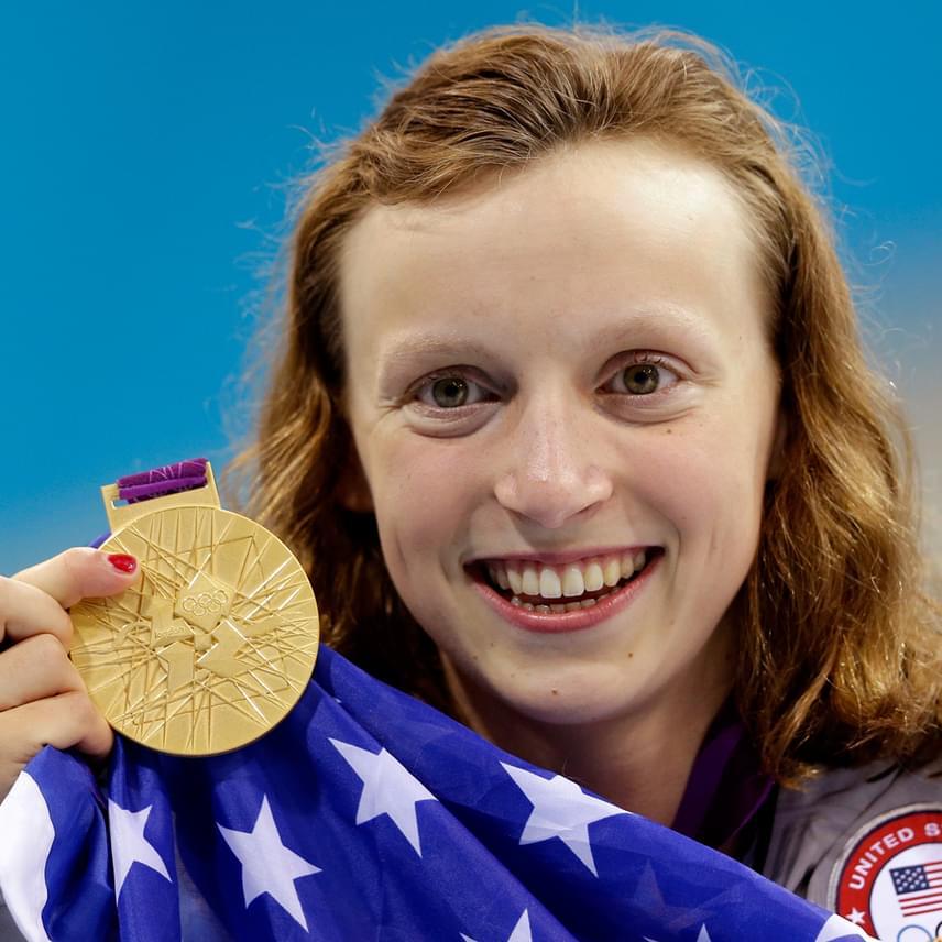 Katie Ledecky a lista második helyén foglal helyet. Az amerikai úszónő négy aranyérmet és egy ezüstérmet szerzett Rióban, női 800 méteres gyorson pedig világrekordot is döntött.