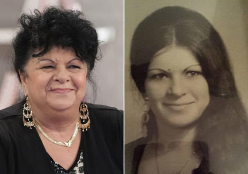 Bangó Margit ma és fiatalon - mosolya ugyanolyan. Eltelt pár évtized, de fiatalos lendületéből mit sem veszített.
