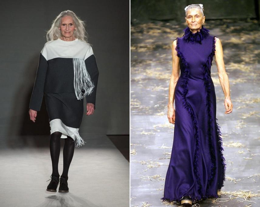 Daphne Selfe 88 évesen nemcsak fotókon tündököl, de gyakran feltűnik neves divatmárkák legújabb ruháiban a kifutókon is. Magas, vékony alakját és tartását számos fiatalabb nő is megirigyelheti, csakúgy, mint a védjegyévé vált, elképesztően dús, ősz sörényt.