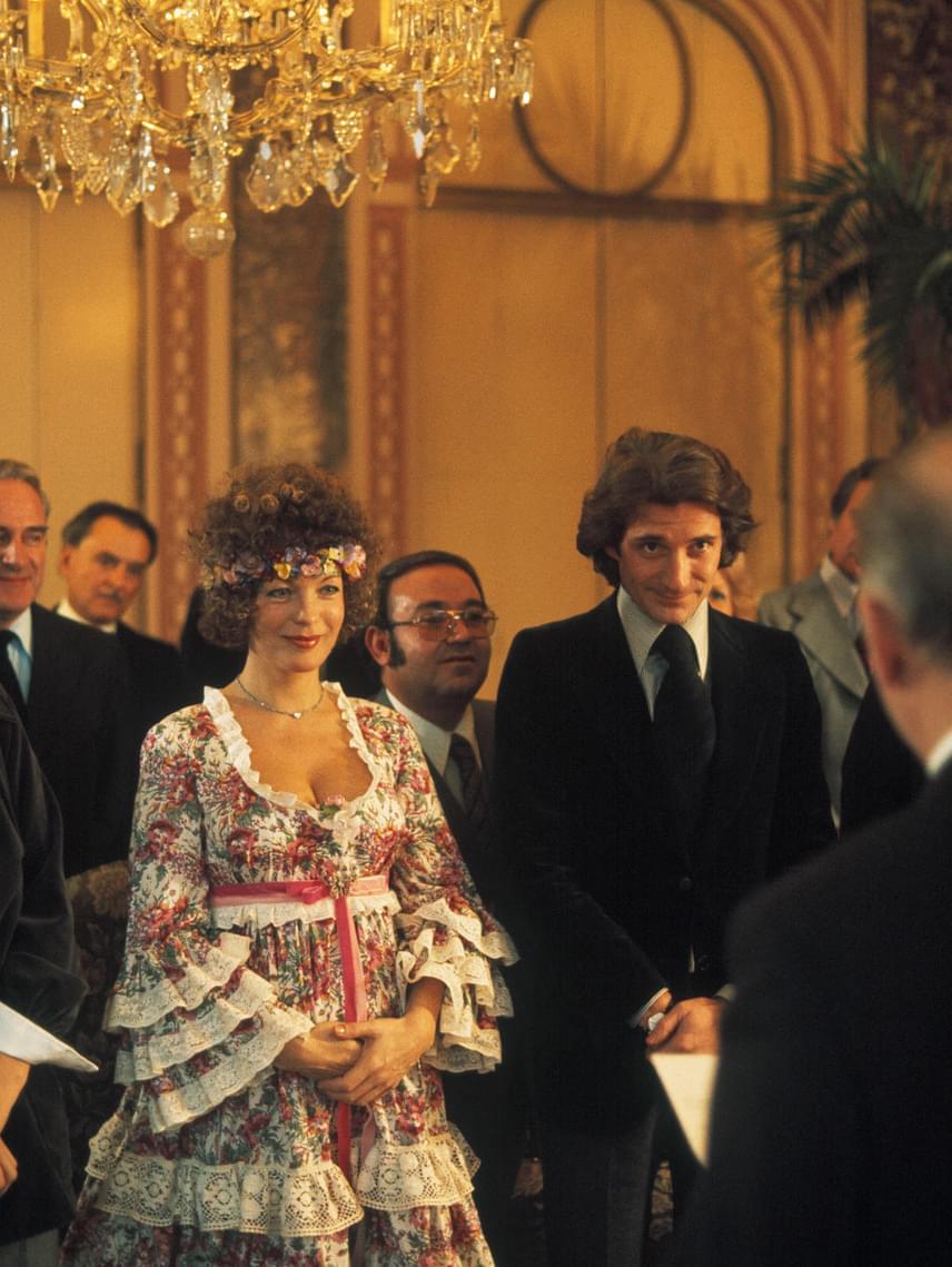 Daniel Biasini éveken keresztül Romy Schneider személyes titkáraként dolgozott, ám idővel szerelem szövődött kettejük között. Az esküvőjükre Párizsban került sor.