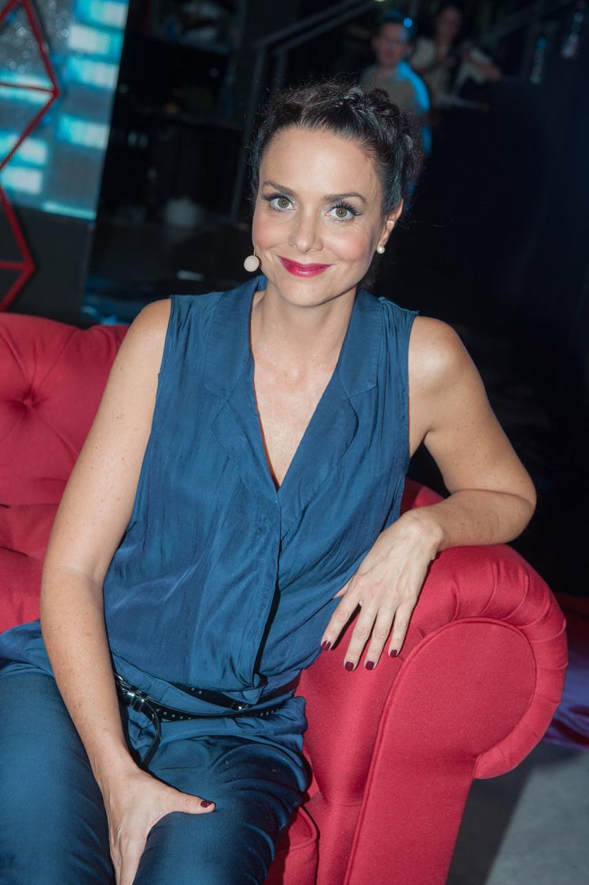 Deutsch Anita ilyen dögösen szerepelt a Super TV2 szerdán indult, Extrém Activity című műsorában.